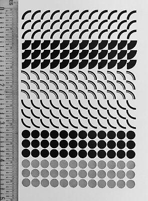 Letterpress Type -18pt. Circular Things