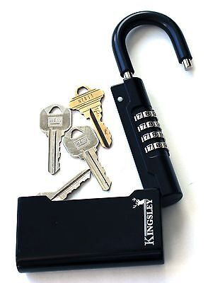 New Kingsley Guard-a-key Key Storage Lock- Real Estate Lock Box Realtor Lockbox