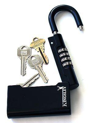 New Kingsley Guard-a-key Key Storage Lock- Real Estate Lock Box Realtor Lockbox