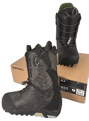 BRAND NEW $600 Burton SLX Snowboard Boots!   Black  Size 7   2017   Burtons