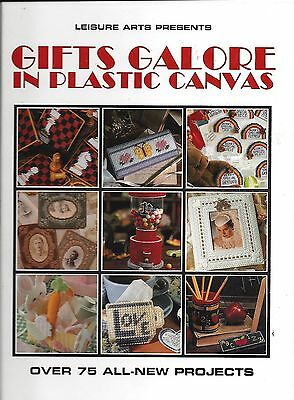 GIFTS GALORE IN PLASTIC CANVAS ~ LEISURE ARTS