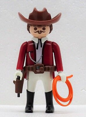 VIEHZÜCHTER RANCHER Playmobil zu Herr Plantage Longhorn Farm Western Cowboy 2399