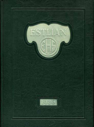 EAST ST LOUIS HIGH SCHOOL, EAST ST LOUIS, IL - YEARBOOK - ESTLIAN - 1926