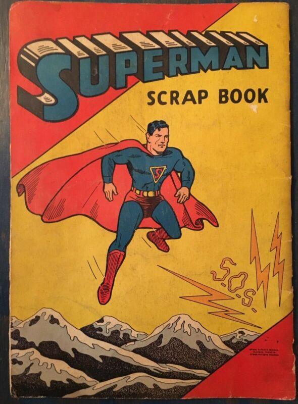 SUPERMAN SCRAP BOOK 1940 (WWII Air War news clippings)