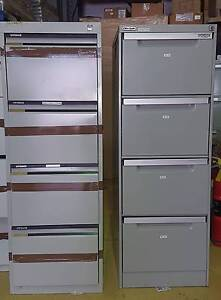 10 x Free 4 Draw Filing Cabinets Kings Park Blacktown Area Preview