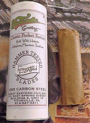 Great Eastern Barlow Knife 2008 Issue Black Green Swirl 51 Of 57 Super MIB! NR