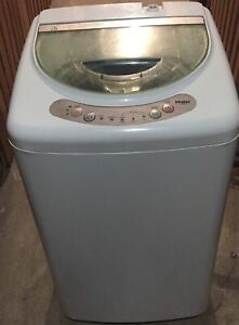 New small portable washer Haier hlp21n with wheels