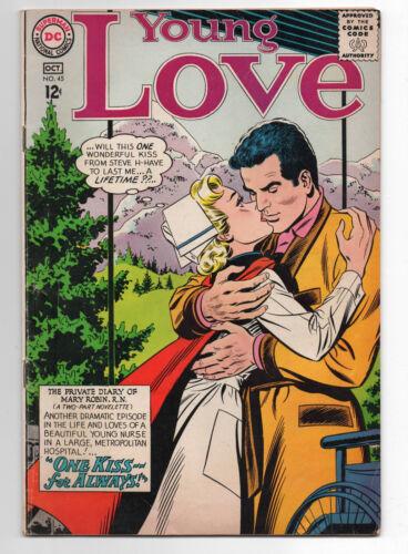 DC  YOUNG LOVE  45  1964  ROMANCE COMICS