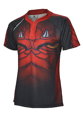 Welsh Dark Dragon Supporters Rugby Shirt S-7XL Olorun Wales Rugby Shirt