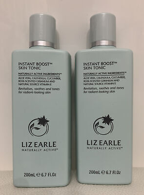 Liz Earle Instant Boost Skin Tonic. Revitalises, Soothes And Tones 2 X 200ml