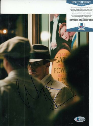 CHRISTIAN BALE signed (PUBLIC ENEMIES) Movie 8X10 photo BECKETT BAS T89878