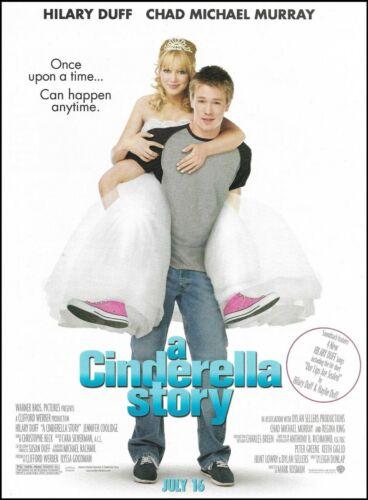 A Cinderella Story 2004 ad Hilary Duff Chad Michael Murray 8 x 11 advertisement