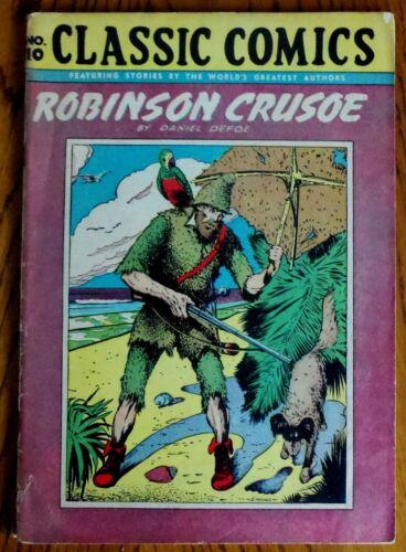 Classics Illustrated Comics - #10 Robinson Crusue - HRN28!!