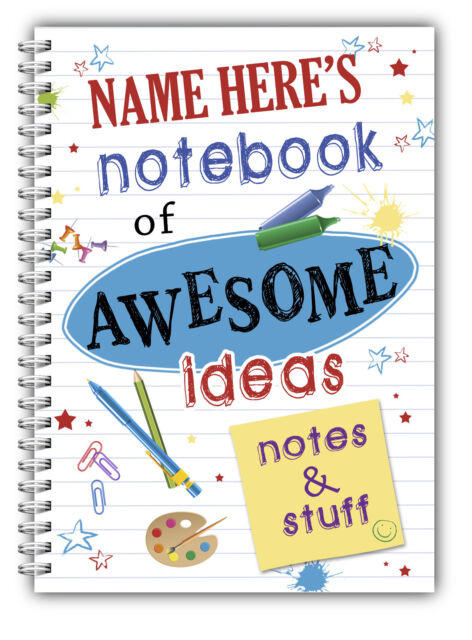 Personalised A5 Notebook by D & L Designs Ltd