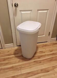 Touch Top Garbage Can