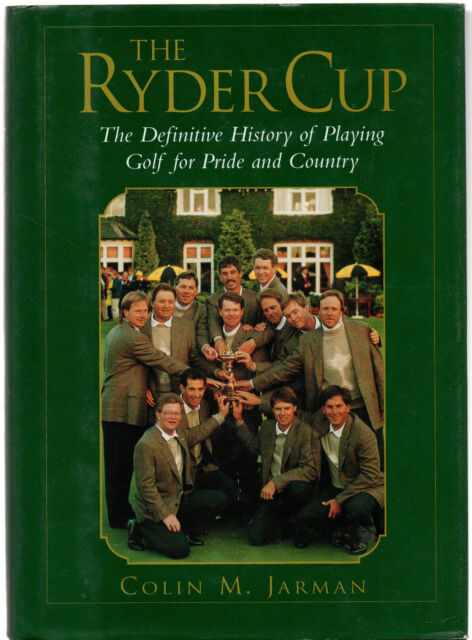 The Ryder Cup by Colin Jarman (Large hardback, 1999)