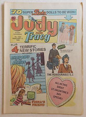 JUDY & TRACY Comic #1362 - 15th February 1986