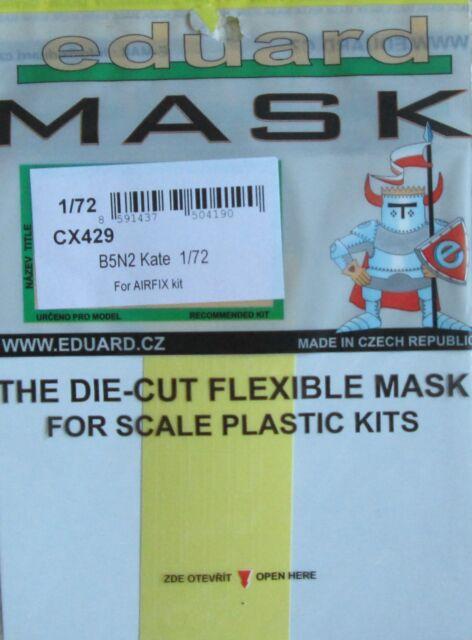 Eduard 1/72 CX429 Canopy Mask for the Airfix Nakajima B5N2 'Kate' kit