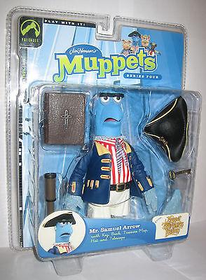 The Muppet Show Mr. Samuel Arrow Sam Series 4 Palisades Figure Mint Condition