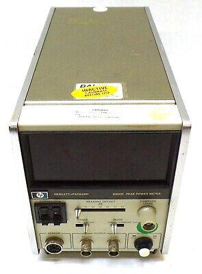 Hewlett Packard Peak Power Meter 8900d 48-66hz 15va Max