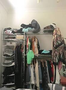 Wire chrome clothing rack Redfern Inner Sydney Preview