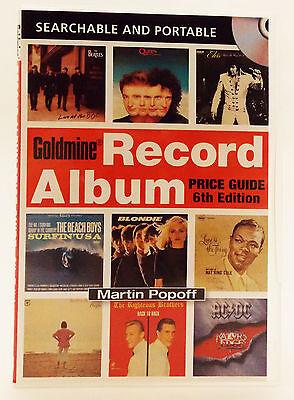 2009 Goldmine Record Album Price Guide CD by Martin Popoff
