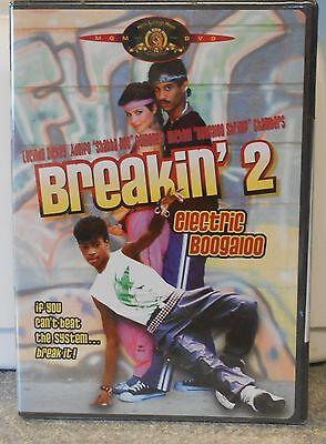 Electric Boogaloo Breakin' 2 (DVD 2002) RARE 1984 LUCINDA DICKEY SHABBA DOO NEW