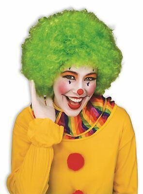 Grüne Farbe Team Geist Clownperücke Erwachsene Damen - Erwachsene Grüne Clown Perücke