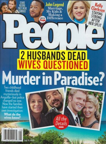 People Magazine  July 15th ,2020  Murder in Paradise?
