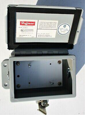 Hoffman Type 12 13 Metal Electrical Junction Pull Box Hazardous A-604ch K-169