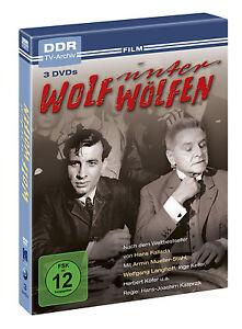 Wolf unter Wölfen - DDR TV-Archiv - 3er Digipak - NEU & OVP
