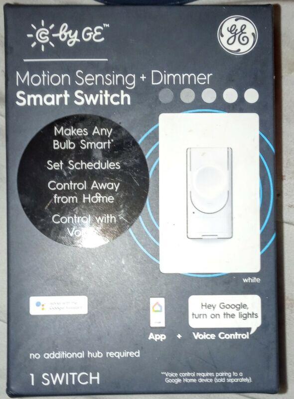 GE MOTION SENSING + DIMMER SMART SWITCH (me-jp) (PBR032400)