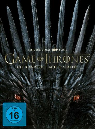 Game of Thrones Staffel 8 Die finale Staffel ( 4 DVDs ) NEU
