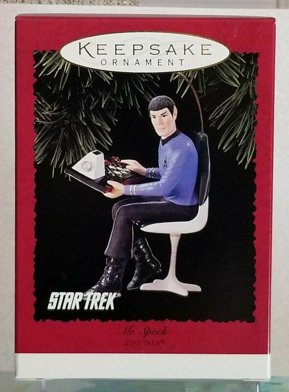 Hallmark Ornament Star Trek MR. SPOCK - Leonard Nimoy - 1996 BRAND NEW UNOPENED!
