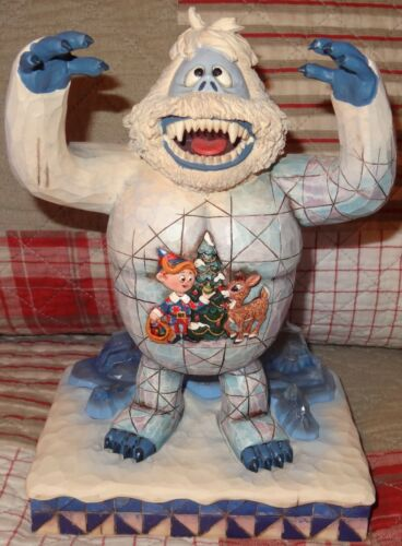 2007 Jim Shore Traditions Bumble Rudolph Reindeer Hermey Figurine