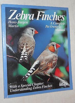 Zebra Finches by Hans-Jurgen Martin (1985, Paperback, illustrated