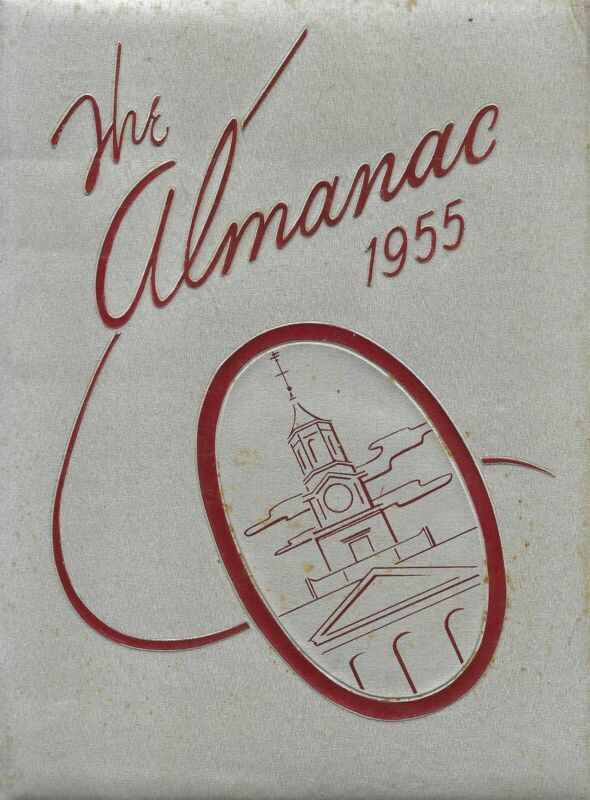High School Yearbook Portland Oregon Benjamin Franklin High School Almanac 1955