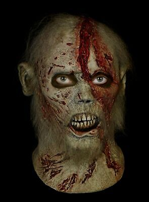 The Walking Dead Bärtiger Zombie Maske aus Latex Halloween Horror
