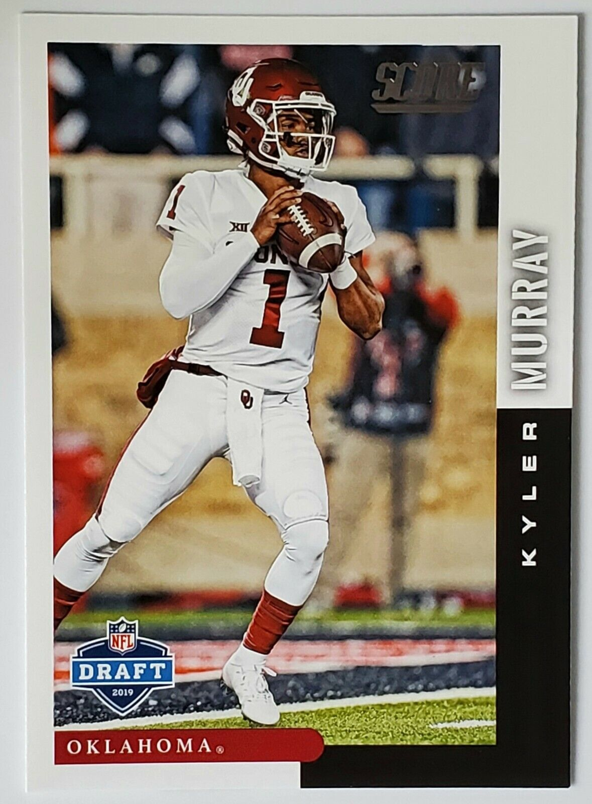 Kyler Murray 2019 Score DFT-9 NFL Draft Rookie Card Oklahoma/Cardinals ROY - $2.45