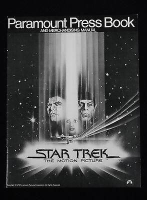 STAR TREK: THE MOTION PICTURE 1979 * WILLIAM SHATNER * PRESSBOOK MINT UNUSED!!