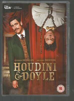 HOUDINI & DOYLE - UK REGION 2 DVD (3-DISC SET) - Harry & Arthur Conan