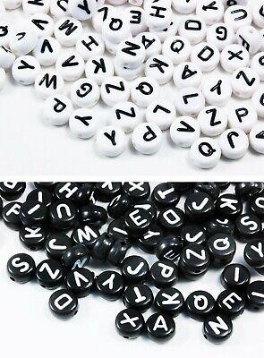INWARIA Buchstabenperlen A-Z mix 100/200/500/1000 Stk. Buchstaben Perlen, P-60 ()