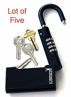 Guard-a-key Key Storage Lock Lot Of 5 - Real Estate Lock Box Realtor Lockbox