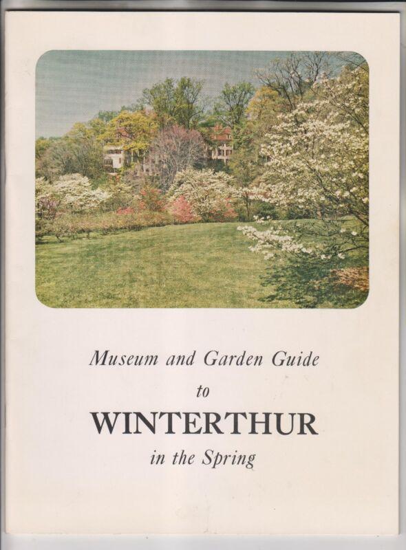CIRCA 1957 - WINTERTHUR MUSEUM AND GARDEN GUIDE - BROCHURES - POSTCARDS
