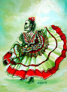Day-of-the-Dead-Senora-de-la-Noche-signed-Print-by-artist-Heather-Calderon