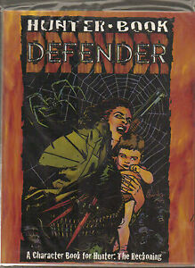 HUNTER BOOK DEFENDER - RECKONING - WORLD OF DARKNESS - WHITE WOLF - WW8104