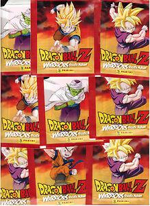 Dragonball Z Warriors / Sticker / 25 Tüten / Panini