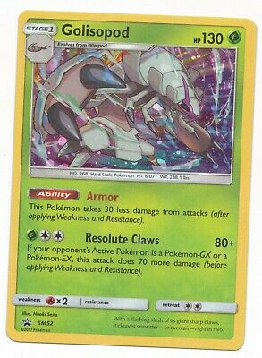 Pokemon Card: Golisopod HOLO SM52 Promo Rare! NM