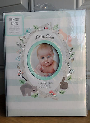 CR Gibson Woodland Squirrel Gender Neutral Boy Girl Baby Memory Keepsake Book