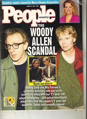 Woody Allen Mia Farrow People Magazine 8 31 92 Mary Kate Ashley Olsen Twins